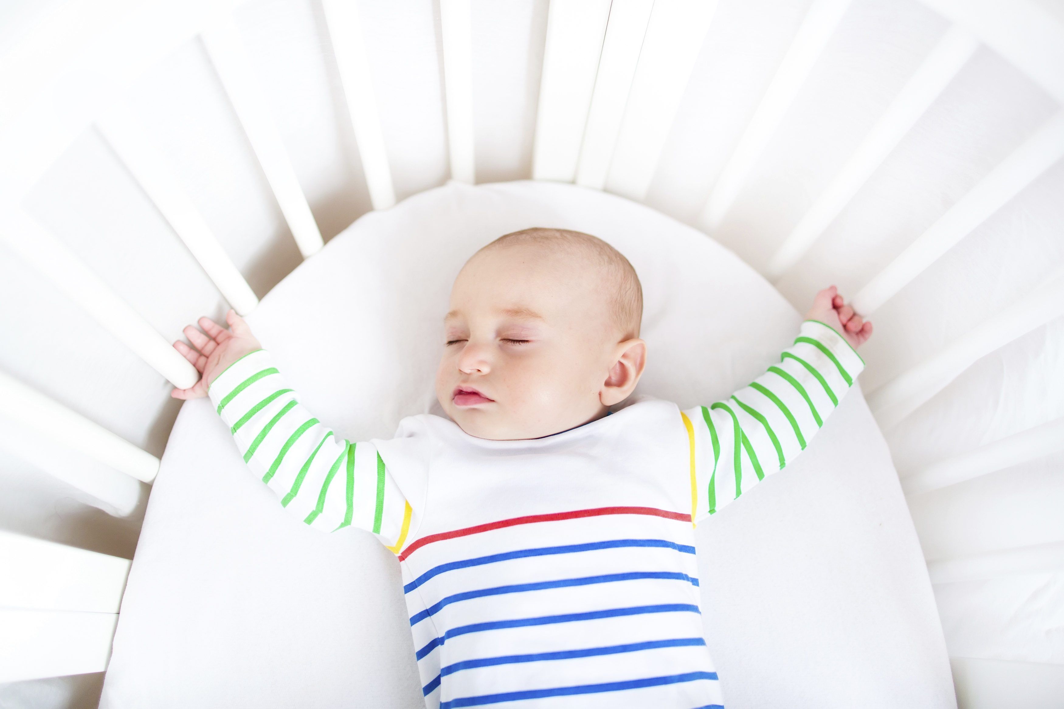 Safest crib for babies - Keeping Baby Safe In The Crib